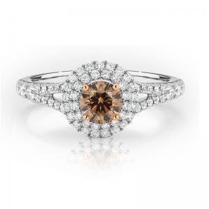 Aurora Chocolate Diamond Ring