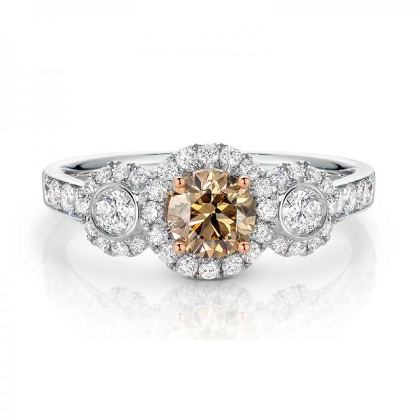 Breeze Chocolate Diamond Ring
